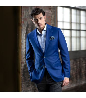 Super 150's French Blue Blazer