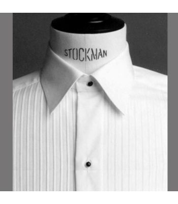Slim Fit Moderate Cutaway Collar with Studs