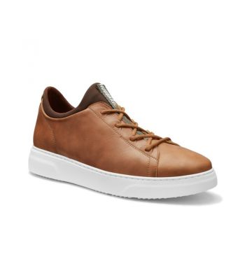 Hubbard Flight-Burnished Tan Leather / White Sole