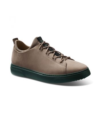 Hubbard Flight-Taupe Nubuck / Dark Green Sole