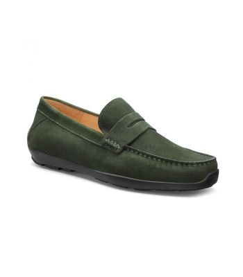 Free Spirit-Loden Green Suede / Black Sole