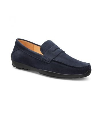 Free Spirit Navy Suede / Black Sole
